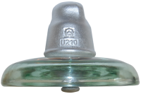 HV glass suspension insulator U210B