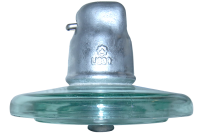 HV glass suspension insulator U240B