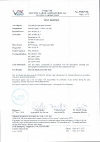 Test report U120BA