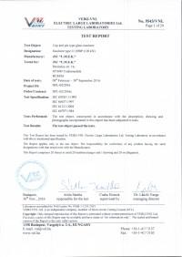 Test report U120BP