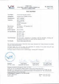 Test report U160BSP