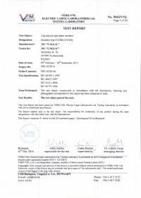 Test report U210B