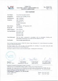 Test report U210BP
