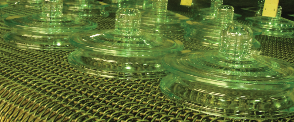 Electrical glass insulators for power lines suspension for Power line insulators glass