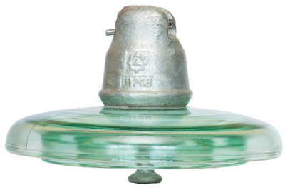HV glass suspension insulator U120B