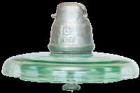 HV glass suspension insulator U120B
