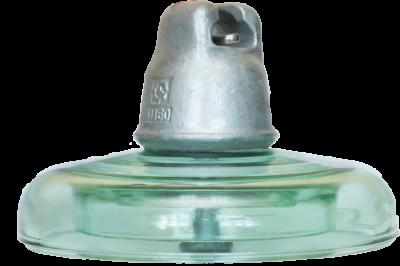 HV glass suspension insulator U160BS
