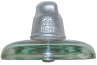 HV glass suspension insulator U210BP