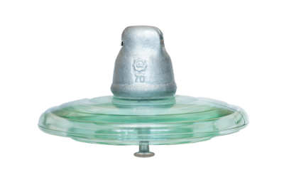 HV glass suspension insulator U70BL