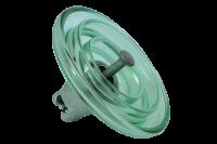 HV glass suspension insulator U120BP