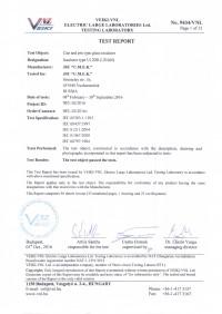 Test report U120B
